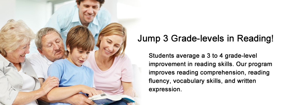 Jump three grade levels