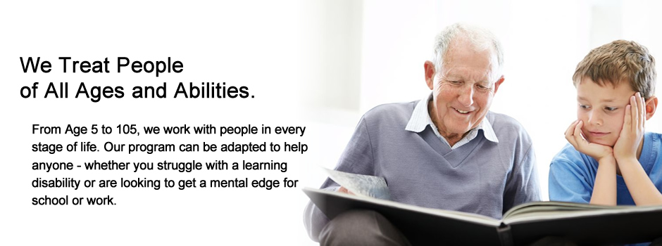 People of all ages and abilities